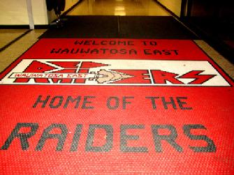 School Welcome Mat
